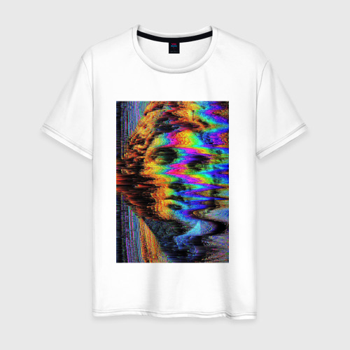 Мужская футболка хлопок Pixel art