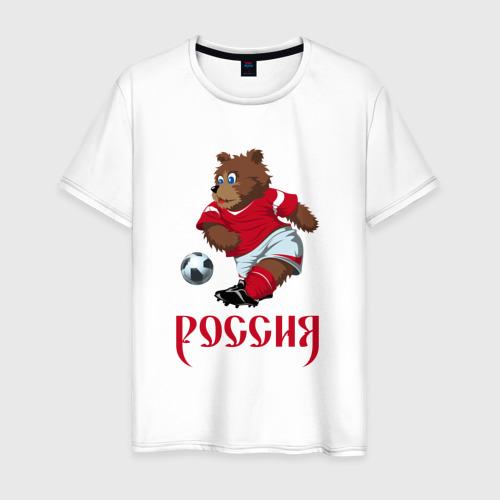 Мужская футболка хлопок Россия 2018-5