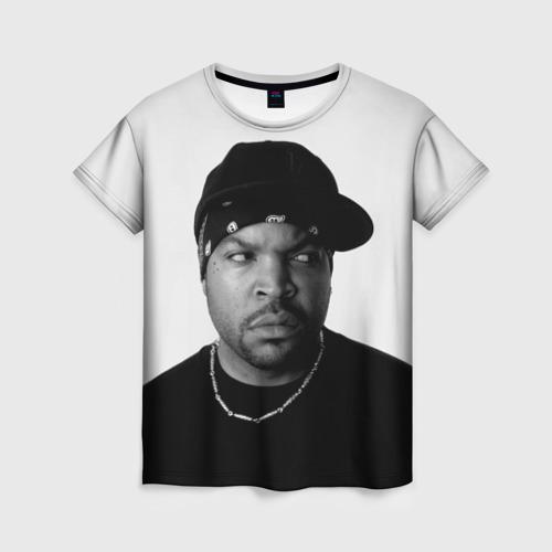 Женская футболка 3D Ice Cube
