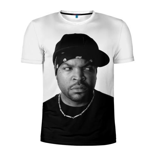 Мужская футболка 3D спортивная Ice Cube