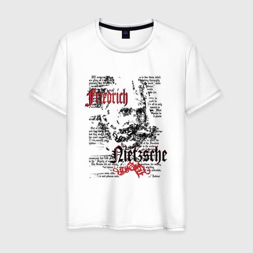Мужская футболка хлопок Фридрих Ницше