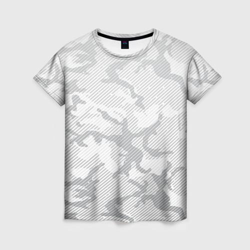 Женская футболка 3D Lite Camouflage Lines