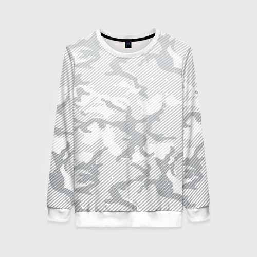 Женский свитшот 3D Lite Camouflage Lines