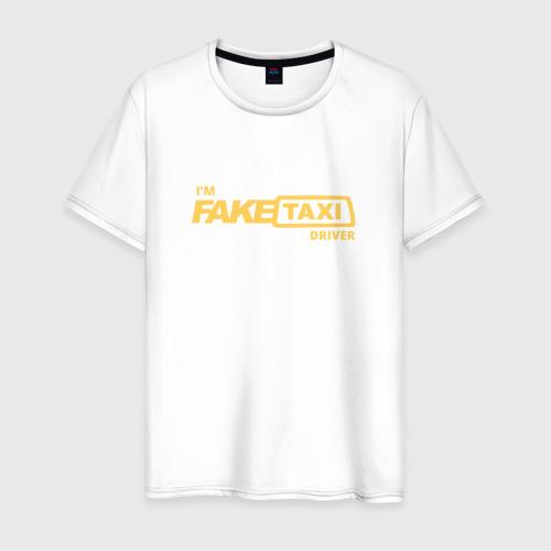 Мужская футболка хлопок FakeTaxi