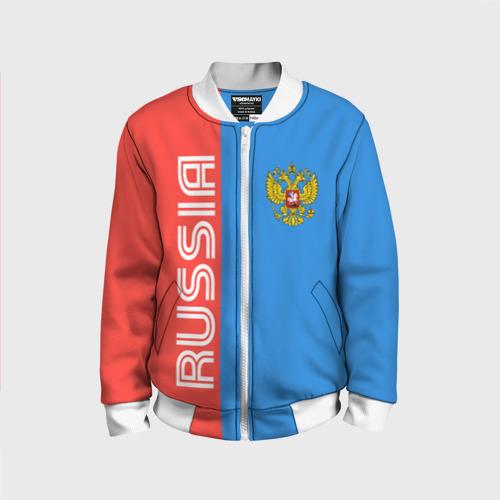 Детский бомбер 3D RUSSIA