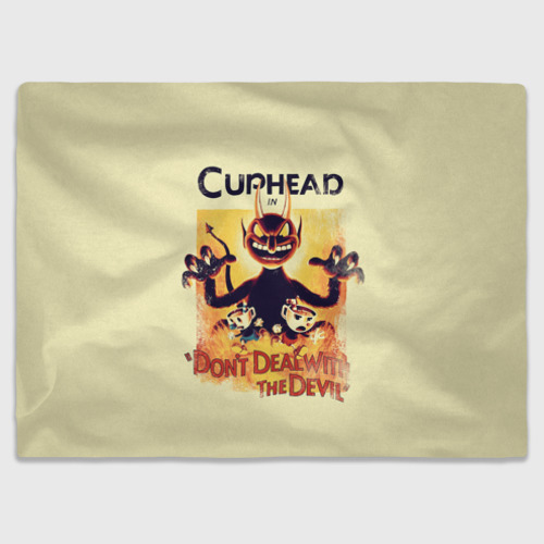 Плед 3D Cuphead