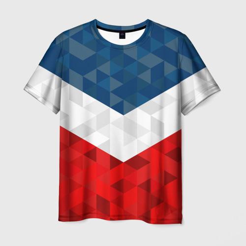 Мужская футболка 3D Форма России