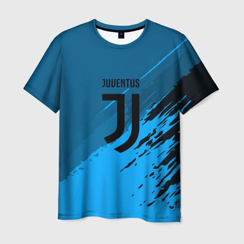 Мужская футболка 3D FC Juventus abstract style