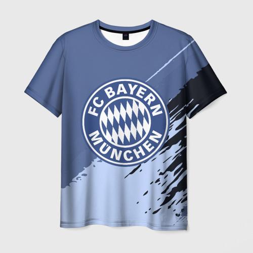 Мужская футболка 3D FC Bayern Munchen style