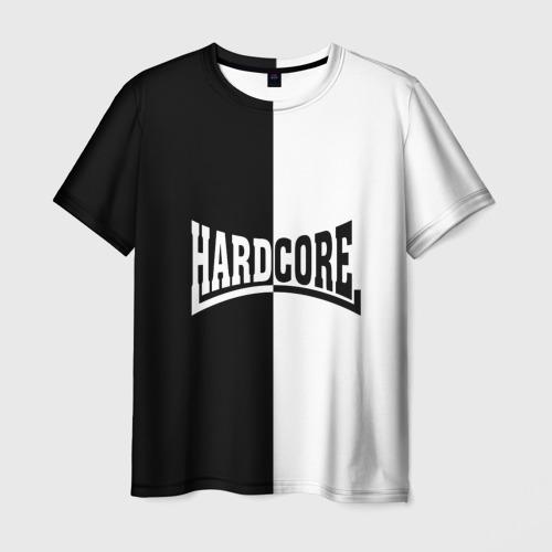 Мужская футболка 3D Hardcore