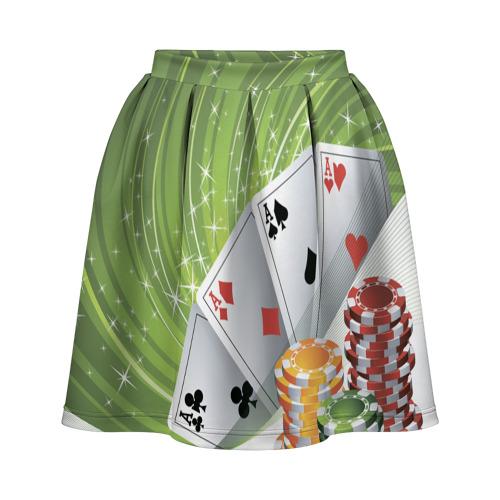 Юбка-солнце 3D Покер Старс