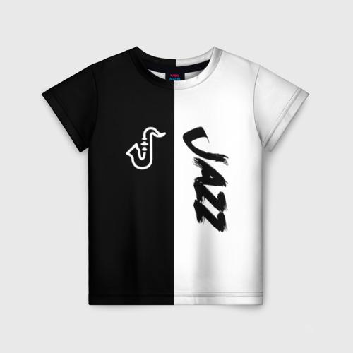 Детская футболка 3D Jazz