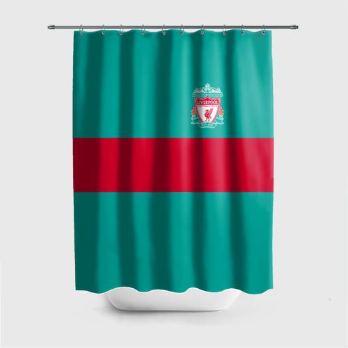 Штора 3D для ванной FC Liverpool