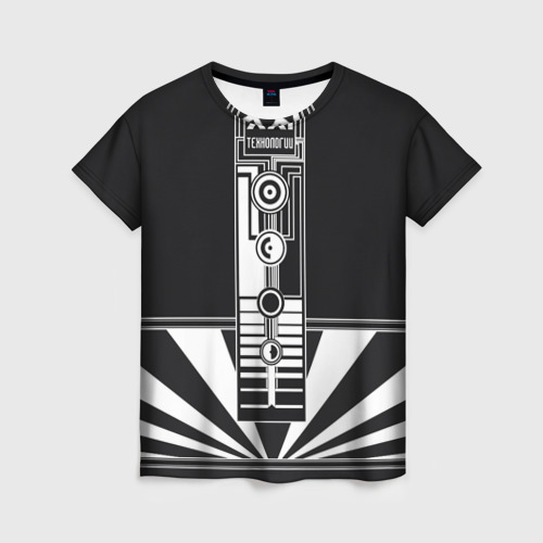 Женская футболка 3D технологии XXI