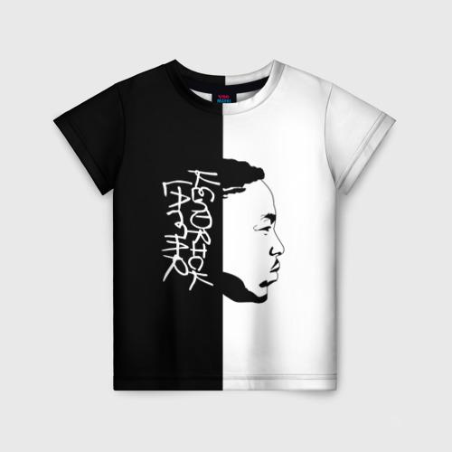 Детская футболка 3D Kendrick Lamar