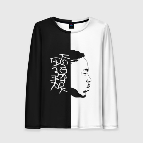 Женский лонгслив 3D Kendrick Lamar