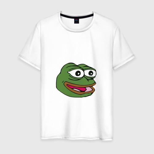 Мужская футболка хлопок Pepe frog
