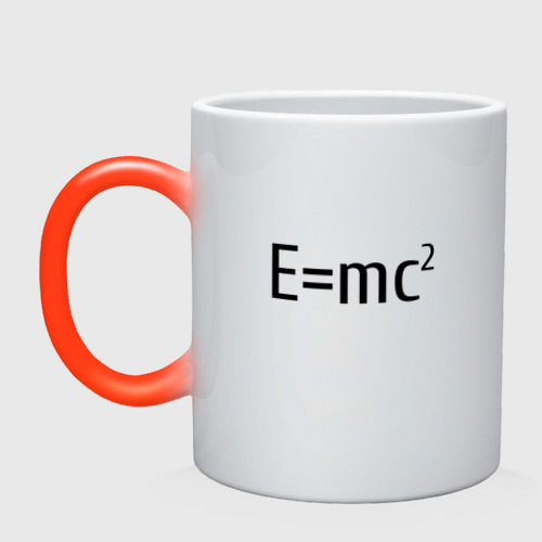 Кружка хамелеон Теория относительности