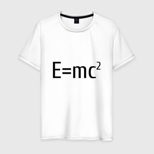Мужская футболка хлопок Теория относительности