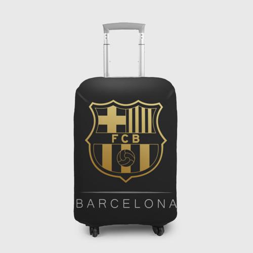 Чехол для чемодана 3D Barcelona Gold Edition