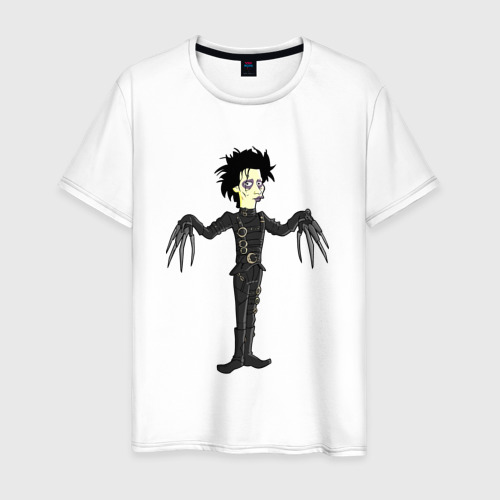 Мужская футболка хлопок Эдвард руки-ножницы