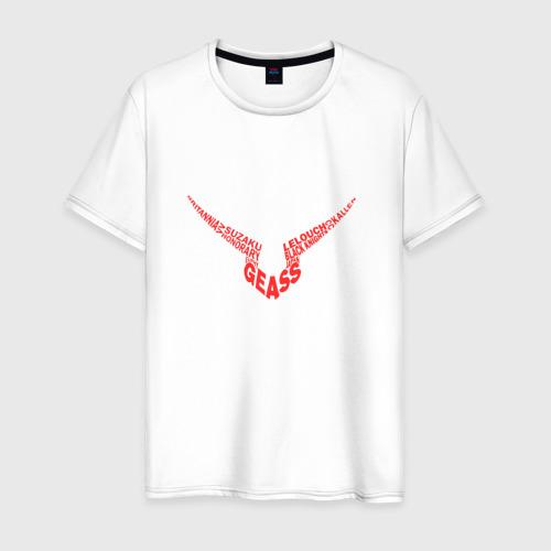 Мужская футболка хлопок Code Geass_7