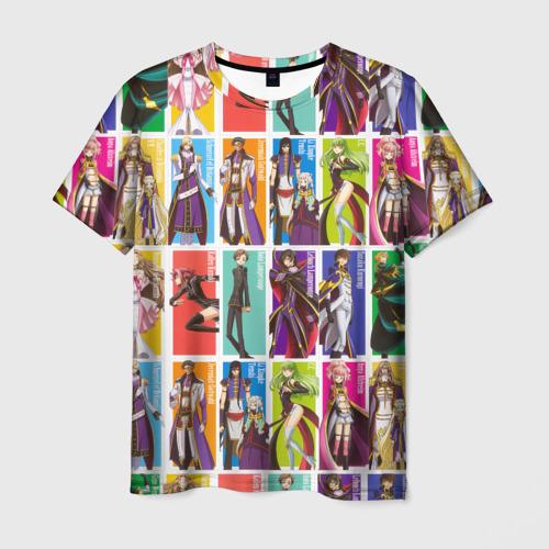 Мужская футболка 3D Code Geass_5
