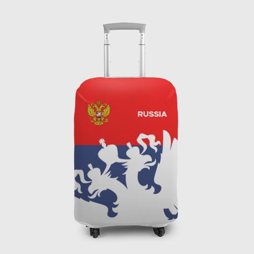 Чехол для чемодана 3D Герб РФ