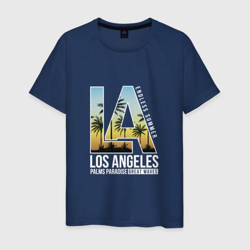 Мужская футболка хлопок Лос Анджелес