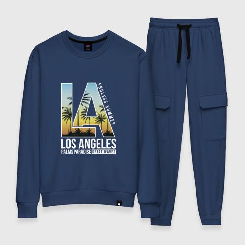 Женский костюм хлопок Лос Анджелес