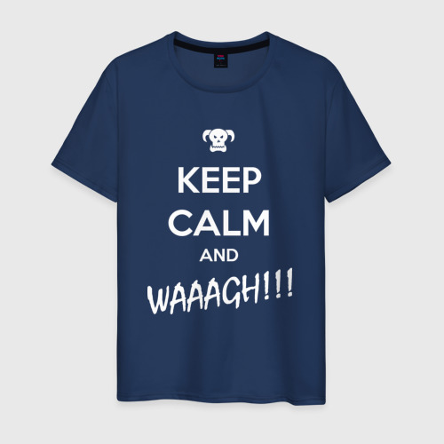 Мужская футболка хлопок WAAAGH!!!