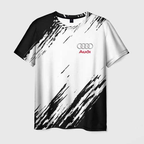Мужская футболка 3D AUDI  SPORT