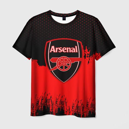 Мужская футболка 3D FC Arsenal Original uniform