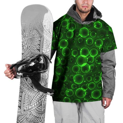 Накидка на куртку 3D Пузыри