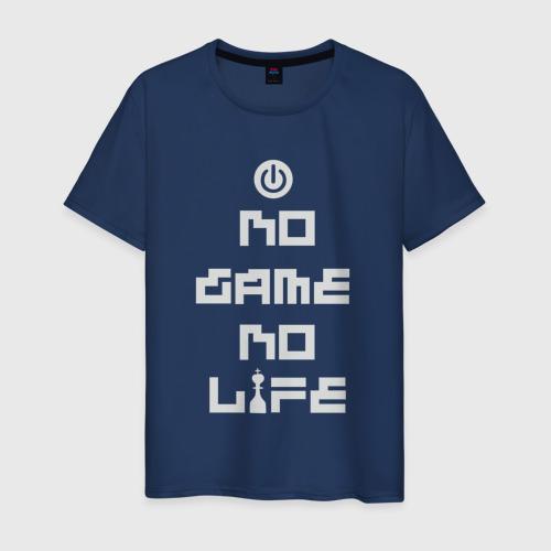 Мужская футболка хлопок No Game No Life anime