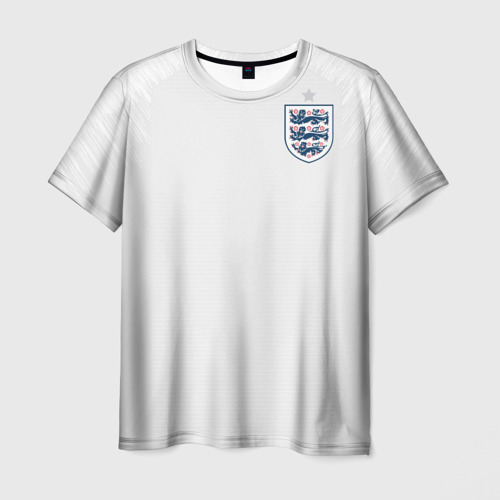 Мужская футболка 3D England home WC 2018