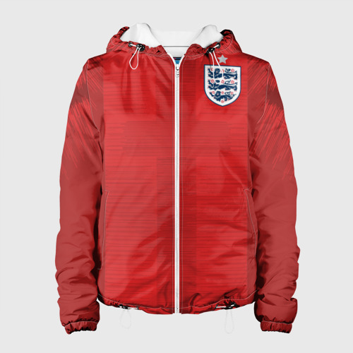 Женская куртка 3D England away WC 2018