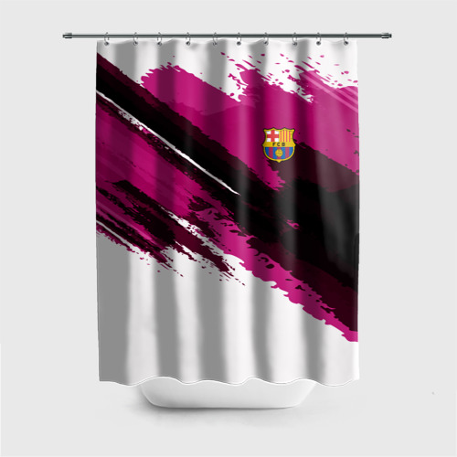 Штора 3D для ванной FC Barcelona Original 2018