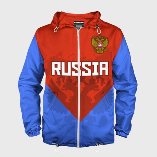 Мужская ветровка 3D Russia