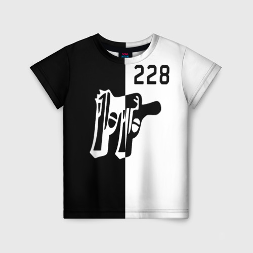 Детская футболка 3D 228