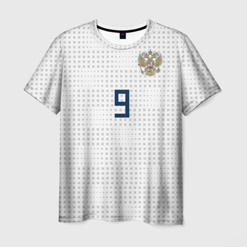 Мужская футболка 3D Kokorin away WC 2018
