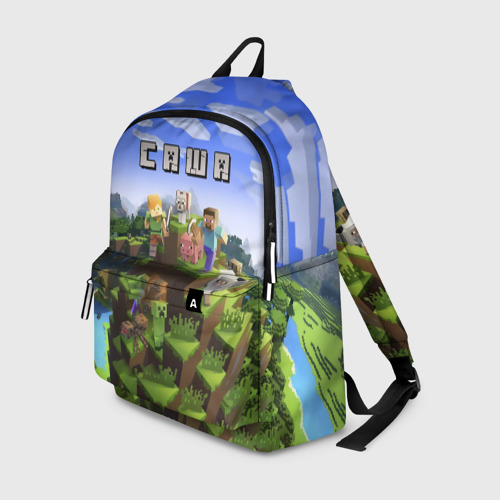 Рюкзак 3D Саша - Minecraft