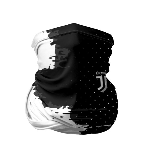 Бандана-труба 3D Juventus uniform black 2018