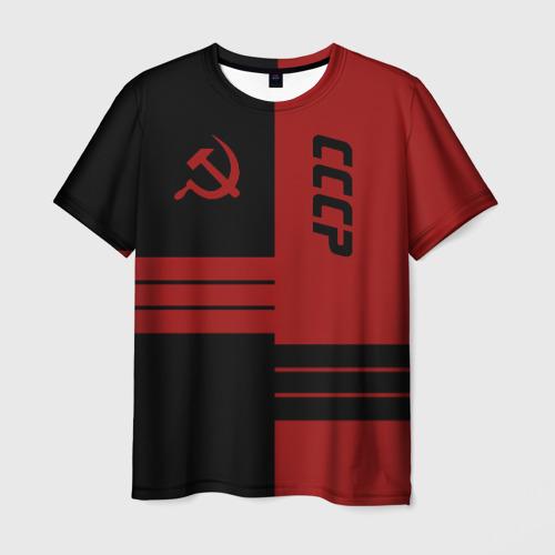 Мужская футболка 3D СССР