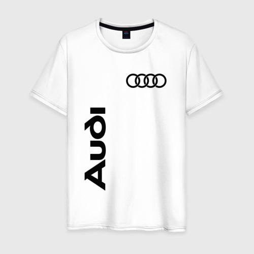 Мужская футболка хлопок Audi