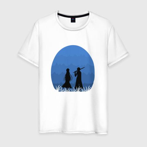 Мужская футболка хлопок Мастера Меча