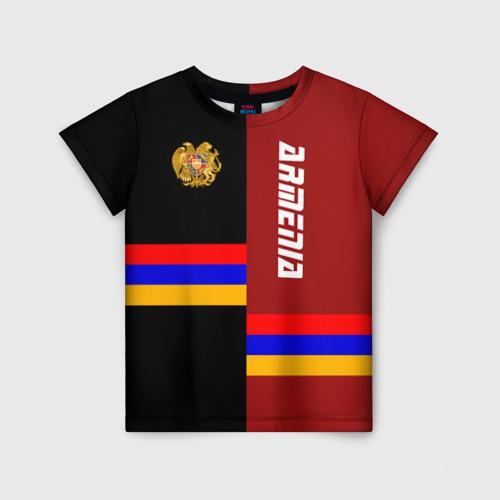 Детская футболка 3D ARMENIA (Армения)