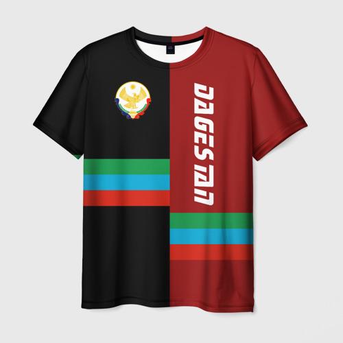 Мужская футболка 3D Dagestan