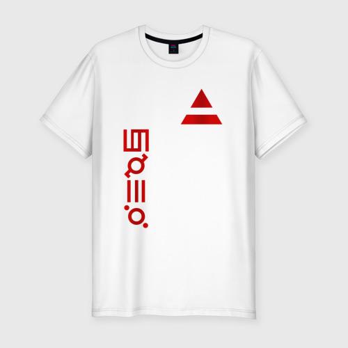 Мужская футболка хлопок Slim 30 Seconds to Mars