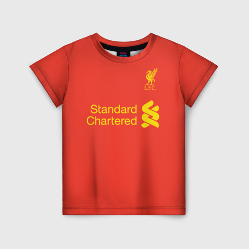 Детская футболка 3D Форма Мохамед Салах